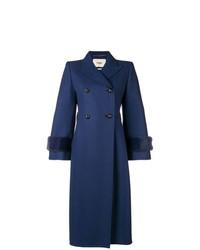 Fendi Embellished Double Breasted Coat