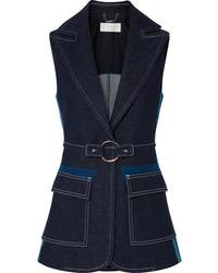 Chloé Two Tone Denim Vest