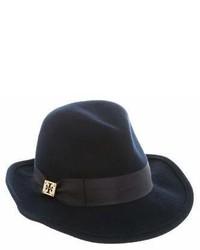 Tory Burch Logo Fedora Hat