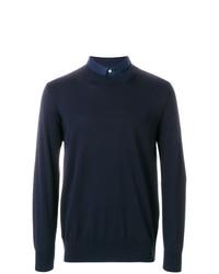 Sacai Pleated Back Pocket Sweatshirt