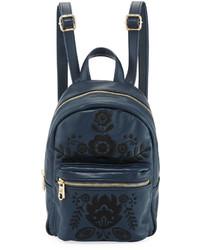 Cynthia Rowley Knox Mini Embroidered Backpack