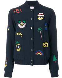 Embroidered bomber jacket medium 5253053