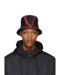 Valentino Navy Garavani Vlogo Bucket Hat
