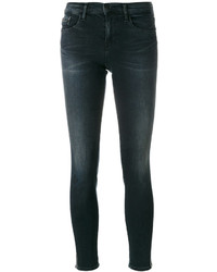 CK Calvin Klein Ck Jeans Embroidered Side Skinny Jeans