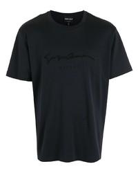 Giorgio Armani Embroidered Logo T Shirt