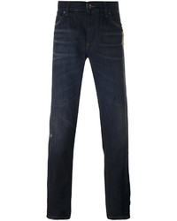 Dolce & Gabbana Pocket Watch Embroidered Jeans