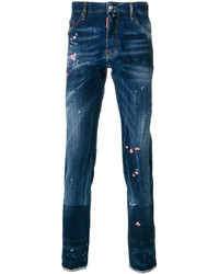 DSQUARED2 Embroidered Cool Guy Jeans