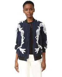 Bomber jacket with applique medium 953635
