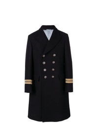 Gucci Embroidered Double Breasted Coat