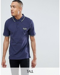 replika Tall Polo With Contrast Tipping