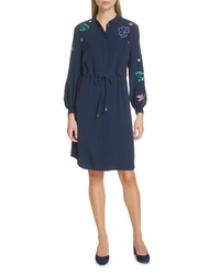 Ted Baker London Dioss Embroidered Shirtdress