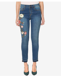 Buffalo David Bitton Hope Embroidered Skinny Ankle Jeans