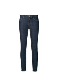 Dolce & Gabbana Rear Slogan Skinny Fit Jeans