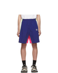 Vetements Blue And White 90s Tracksuit Shorts