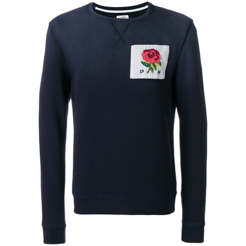 Patch amp; how amp; Sweatshirt Where to Rose to Curwen wear buy Kent ztFWdd
