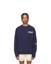 Heron Preston Navy Ghost Sweatshirt