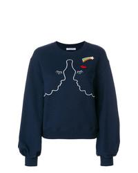 Vivetta Silhouette Embroidered Sweatshirt