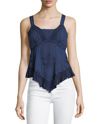 Romeo & Juliet Couture Cold Dyed Embroidered Tank