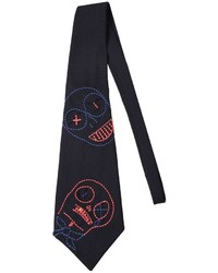 Vivienne Westwood Monster Embroidered Tie
