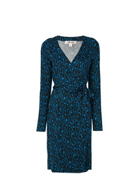 Dvf Diane Von Furstenberg Embroidered Wrap Dress