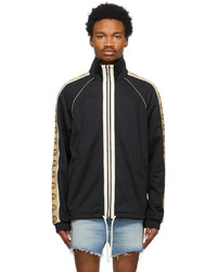 Gucci Black Technical Jersey Oversized Sweater