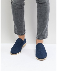 New Look Knitted Espadrilles In Navy