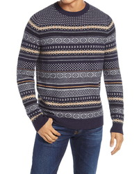1901 Fair Isle Crewneck Sweater