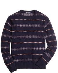 Brooks Brothers Fair Isle Crewneck Sweater