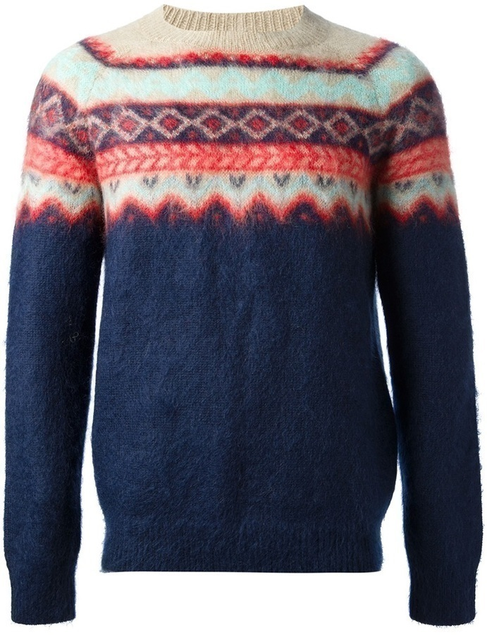 Carven Mauntain Navajo Sweater