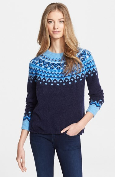 Joie Deedra Fair Isle Sweater | Where to buy & how to wear