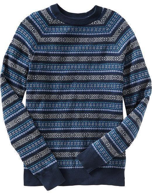 Old Navy Fair Isle Sweaters