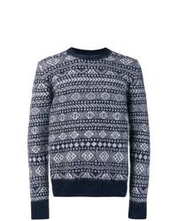 Woolrich Intarsia Knit Jumper