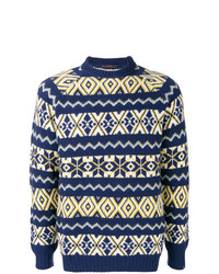 The Gigi Knit Patterned Jumper