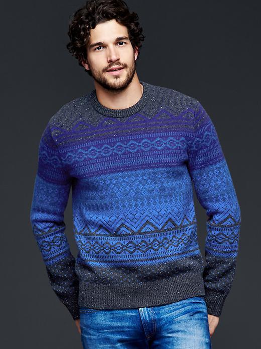 Gap Lambswool Fair Isle Crew Sweater | Where to buy & how to wear