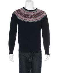Michael Bastian Michl Bastian Fair Isle Sweater