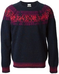 Paul Smith Tropical Fair Isle Sweater