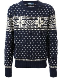 Ralph Lauren Blue Crew Neck Sweater