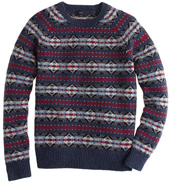J.Crew Tall Lambswool Fair Isle Sweater | Where to buy & how to wear