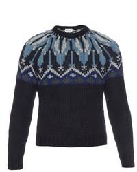 Wool and alpaca blend sweater medium 342524