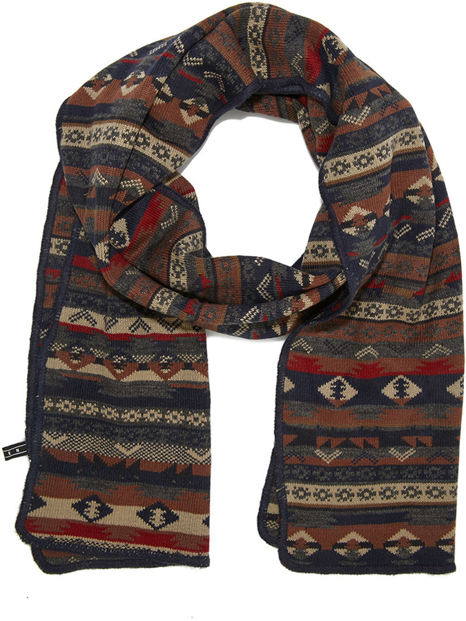 Forever 21 Mixed Fair Isle Pattern Scarf | Where to buy & how to wear