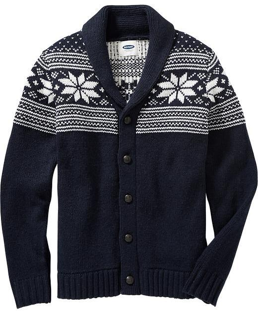 Old Navy Fair Isle Cardigans | Where to buy & how to wear