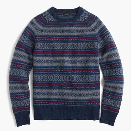 J.Crew Lambswool Fair Isle Sweater | Where to buy & how to wear