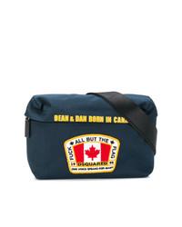 DSQUARED2 Flag Patch Belt Bag