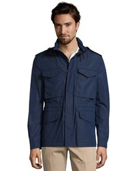 Burberry Brit Navy Nylon Brettson Field Jacket