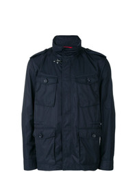 huge discount bd420 d2d88 Men's Navy Field Jackets by Fay | Men's Fashion | Lookastic.com