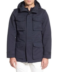 Hooded water resistant field jacket medium 669450