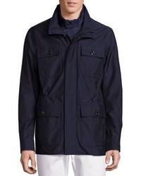 Michael Kors Michl Kors Hybrid Field Wool Blend Jacket