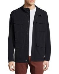Microfiber field jacket dark navy medium 925639