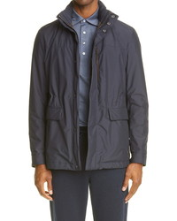 Ermenegildo Zegna Stratos Hooded Water Repellent Down Jacket
