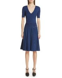 Jason Wu Knit Fit Flare Dress